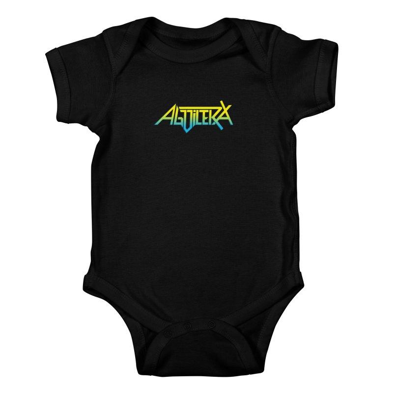 Aguilera color Kids Baby Bodysuit by Mock n' Roll