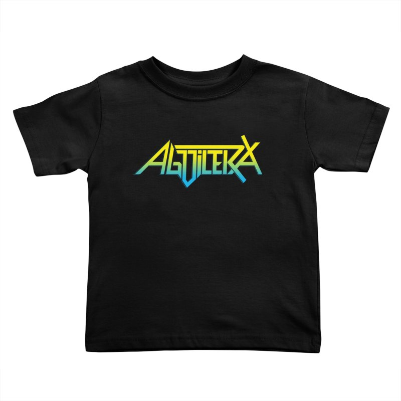 Aguilera color Kids Toddler T-Shirt by Mock n' Roll