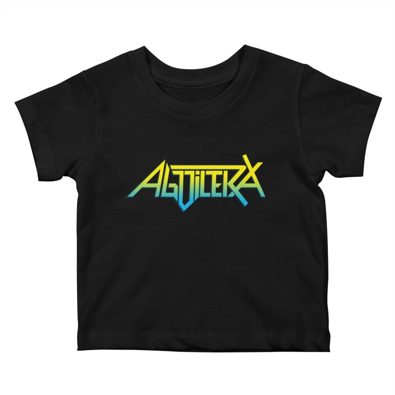 Aguilera color Kids Baby T-Shirt by Mock n' Roll