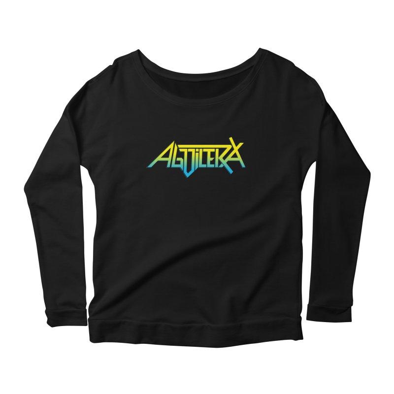 Aguilera color Women's Scoop Neck Longsleeve T-Shirt by Mock n' Roll