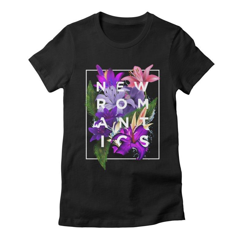 New Romantics Women's Fitted T-Shirt by moda's Artist Shop