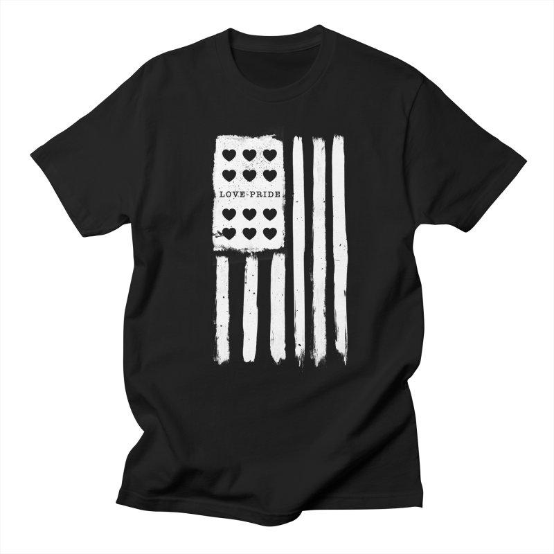 LOVE PRIDE Men's T-Shirt by moda's Artist Shop