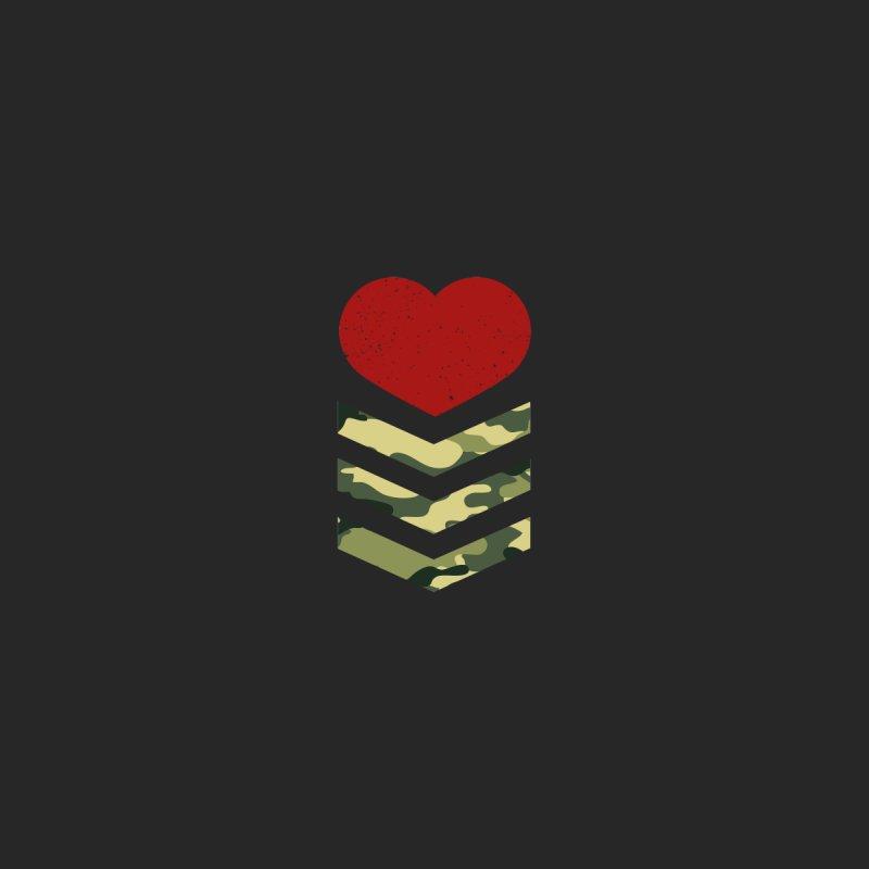 Soldier of Love (Series 1) Men's Triblend T-shirt by moda's Artist Shop