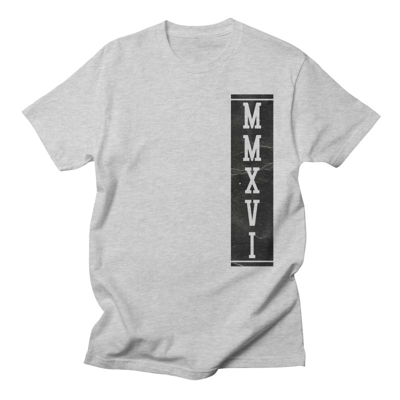 MMXVI Men's T-shirt by moda's Artist Shop