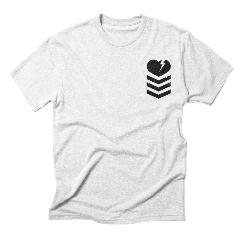 Soldier of Love (Series 2) in Men's Triblend T-shirt Heather White by moda's Artist Shop