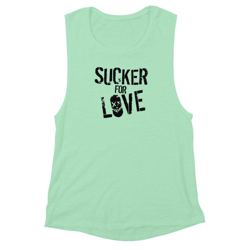 Sucker for Love Women's Muscle Tank by moda's Artist Shop