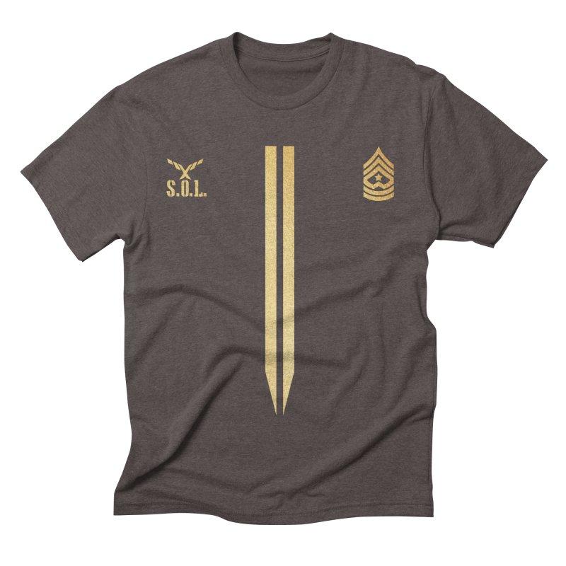 Soldier of Love (Series 4) Men's Triblend T-shirt by moda's Artist Shop