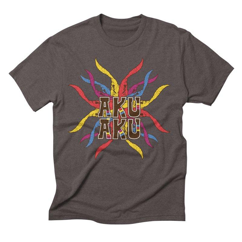 AKU AKU Men's Triblend T-shirt by moda's Artist Shop