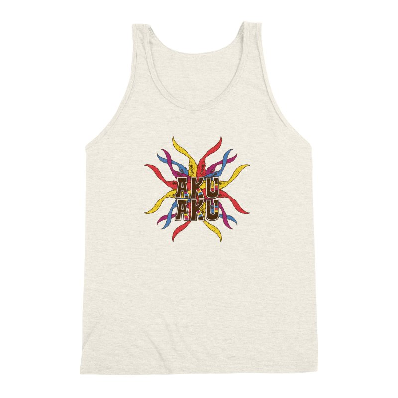 AKU AKU Men's Triblend Tank by moda's Artist Shop