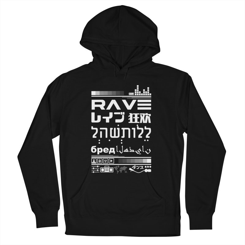 RAVE Men's Pullover Hoody by moda's Artist Shop