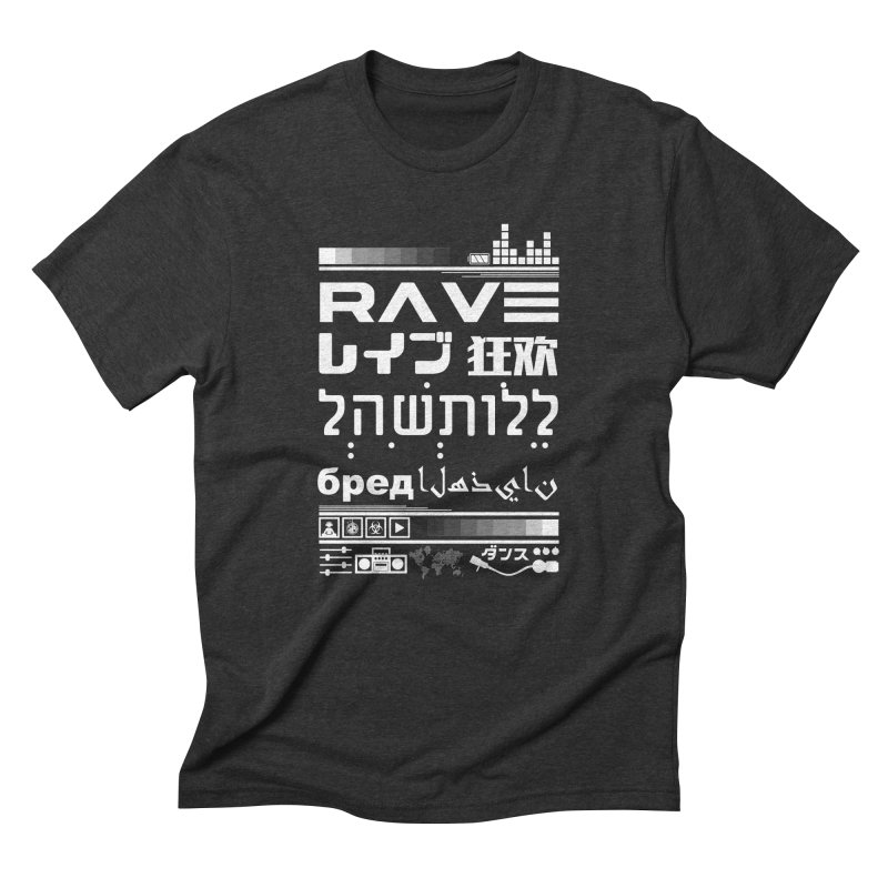 RAVE Men's Triblend T-Shirt by moda's Artist Shop