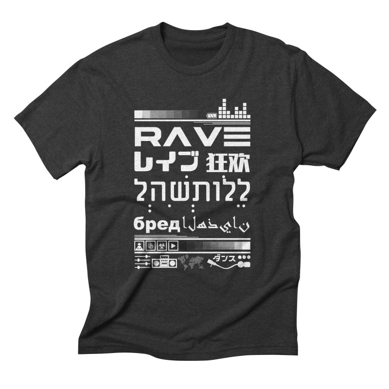 RAVE Men's Triblend T-shirt by moda's Artist Shop