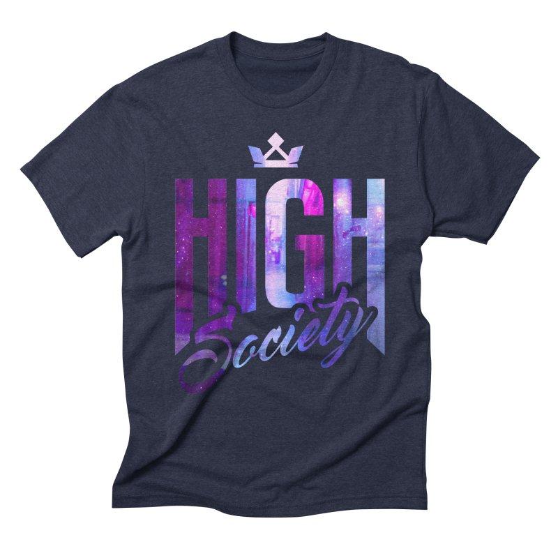 High Society Men's Triblend T-shirt by moda's Artist Shop