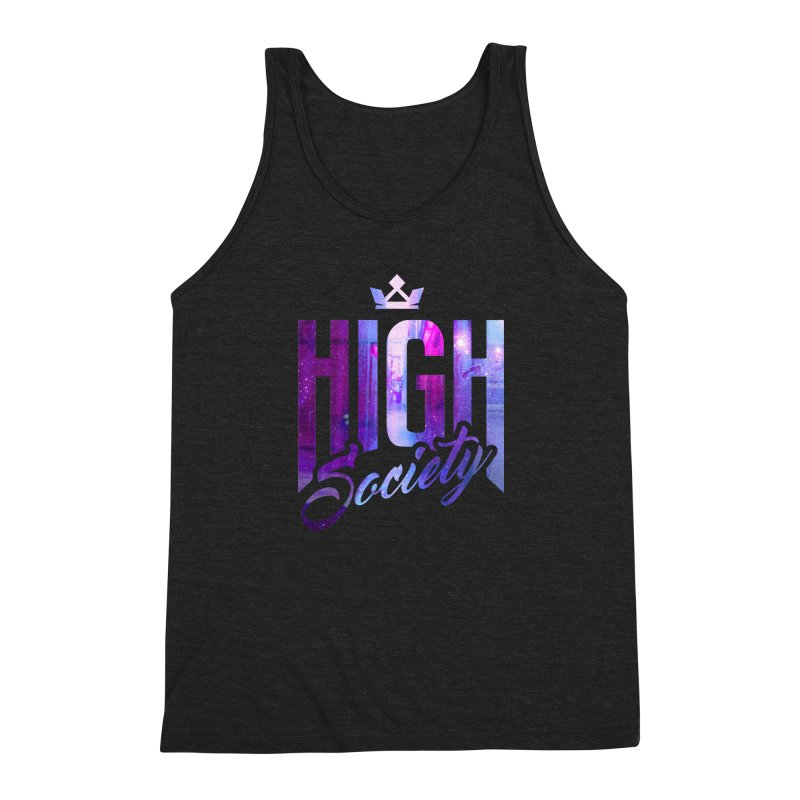 High Society Men's Triblend Tank by moda's Artist Shop