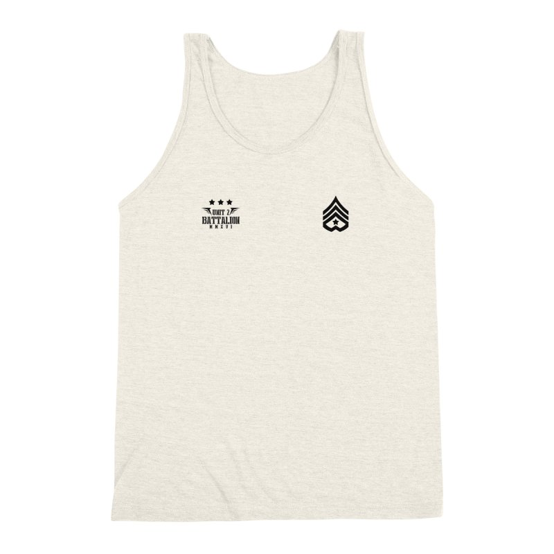 Love Battalion (Soldier or Love Series 5) Men's Triblend Tank by moda's Artist Shop