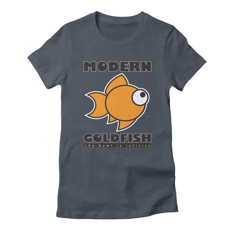 Modern Goldfish Women's T-Shirt by The Modern Goldfish Shop