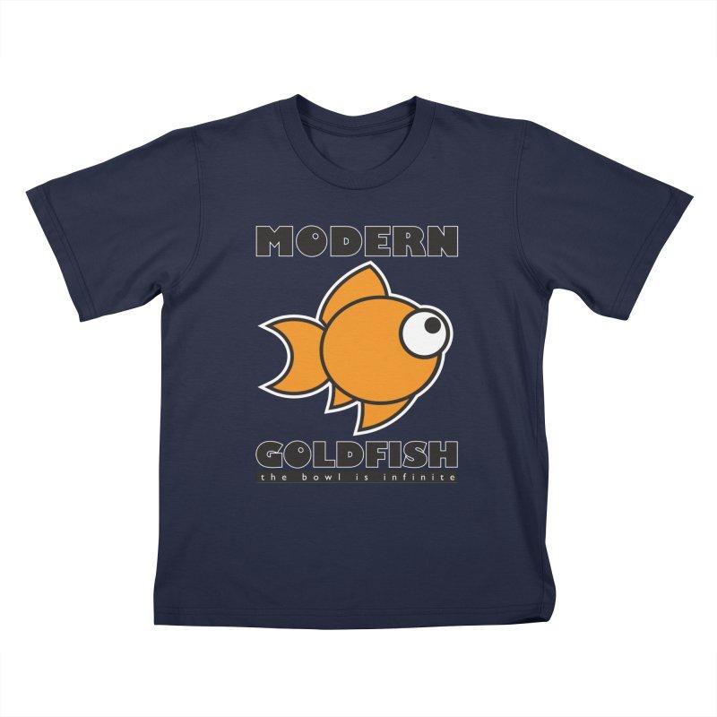 Modern Goldfish Kids T-Shirt by The Modern Goldfish Shop