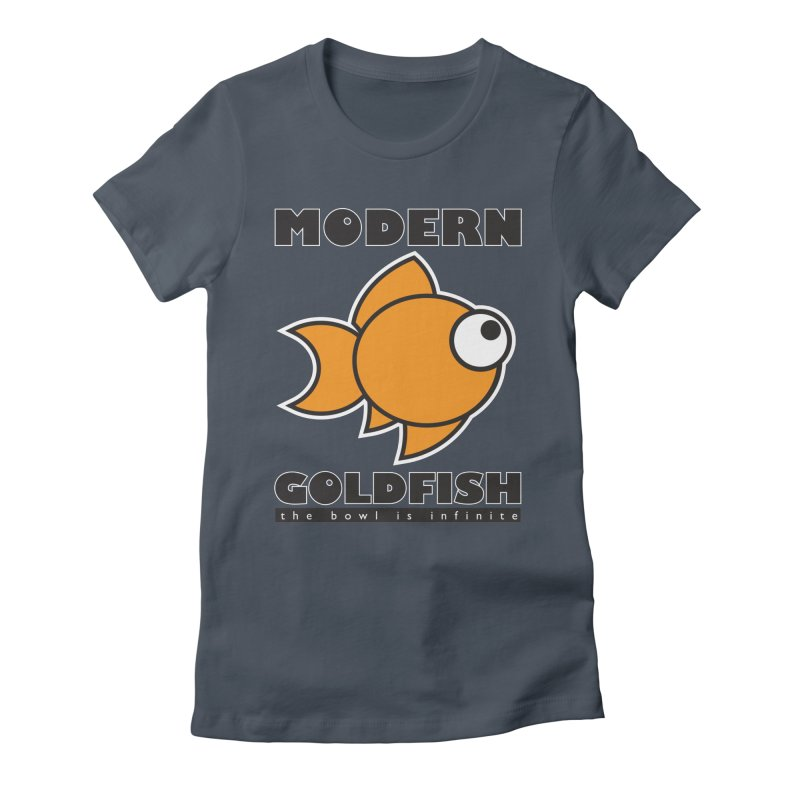 Modern Goldfish Women's T-Shirt by The Modern Goldfish Shop
