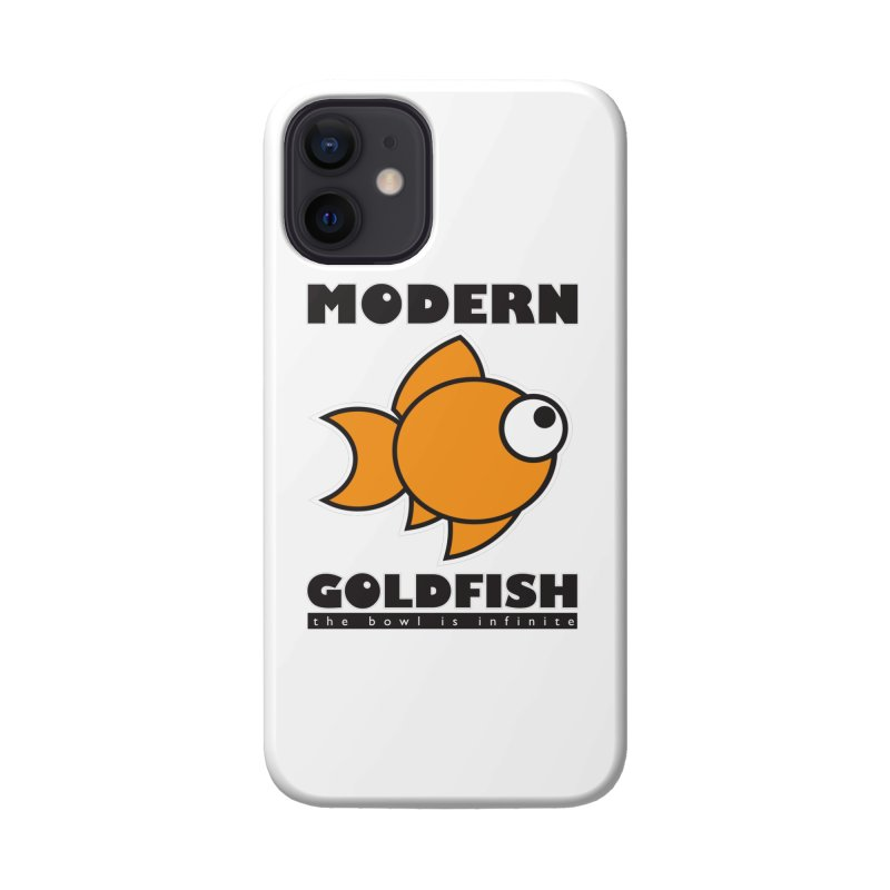 Modern Goldfish Accessories Phone Case by The Modern Goldfish Shop