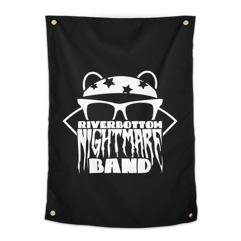 Riverbottom Nightmare Band Home Tapestry by The Modern Goldfish Shop