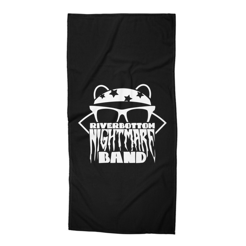 Riverbottom Nightmare Band Accessories Beach Towel by The Modern Goldfish Shop
