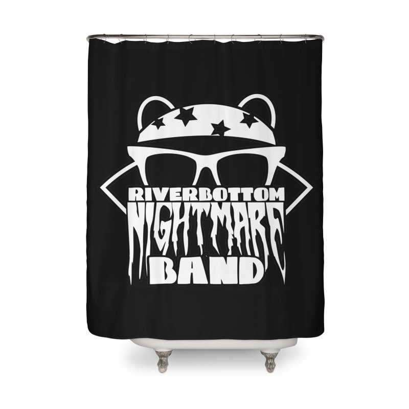 Riverbottom Nightmare Band Home Shower Curtain by The Modern Goldfish Shop