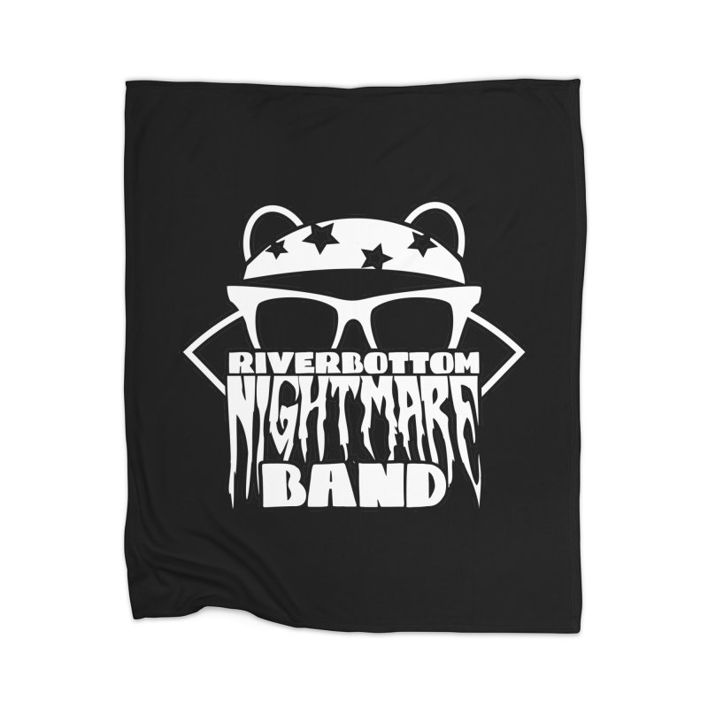Riverbottom Nightmare Band Home Blanket by The Modern Goldfish Shop