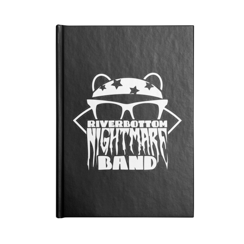 Riverbottom Nightmare Band Accessories Notebook by The Modern Goldfish Shop