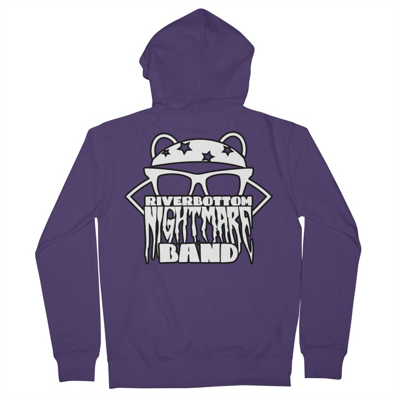 Riverbottom Nightmare Band Women's Zip-Up Hoody by The Modern Goldfish Shop