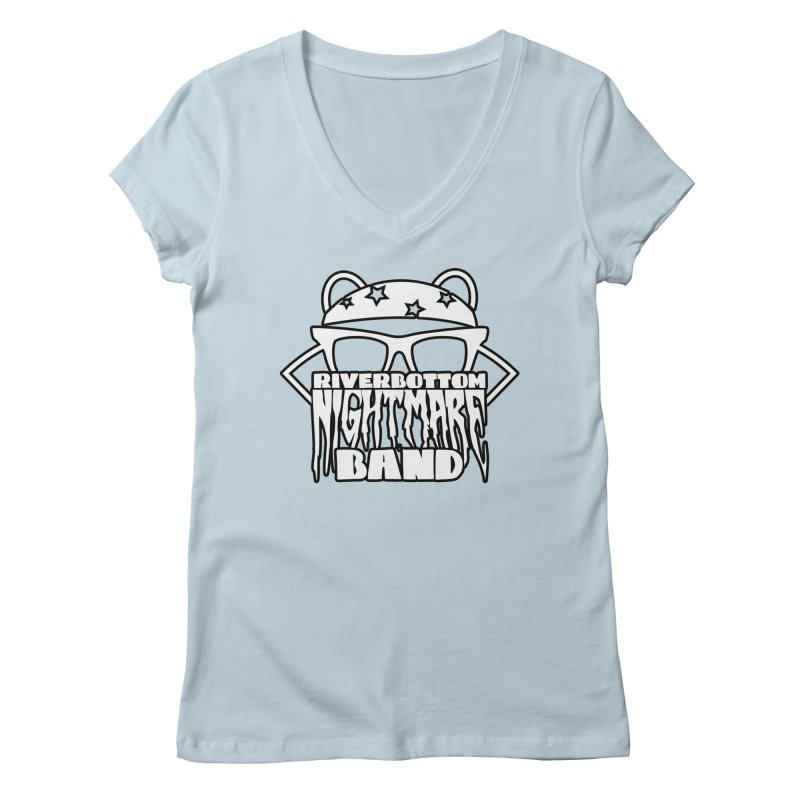 Riverbottom Nightmare Band Women's V-Neck by The Modern Goldfish Shop