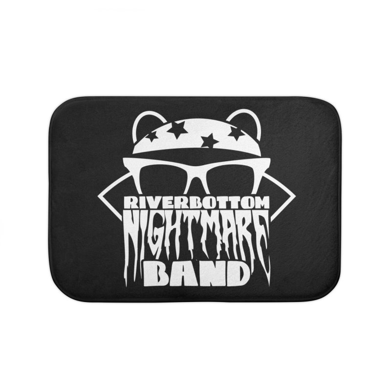 Riverbottom Nightmare Band Home Bath Mat by The Modern Goldfish Shop