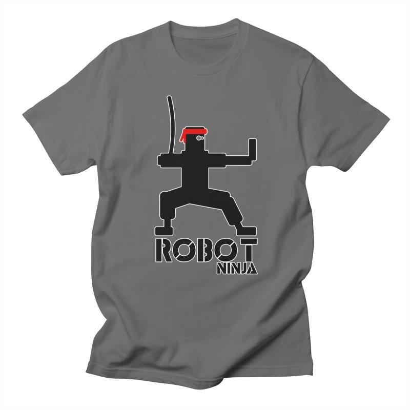 Robot Ninja! Women's T-Shirt by The Modern Goldfish Shop