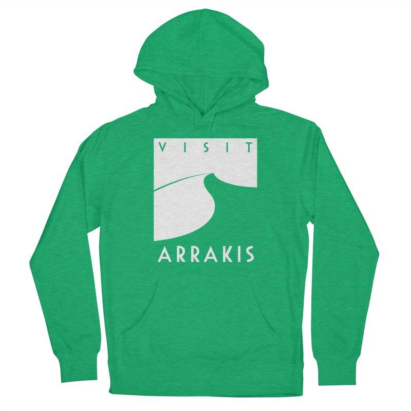 Visit Arrakis Women's Pullover Hoody by The Modern Goldfish Shop
