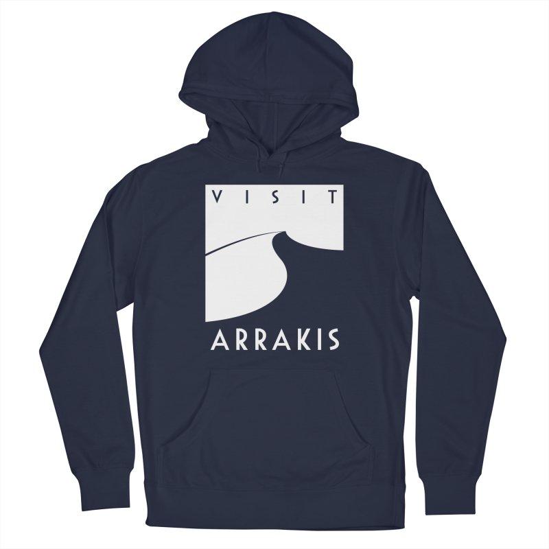 Visit Arrakis Men's Pullover Hoody by The Modern Goldfish Shop