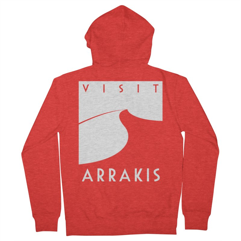 Visit Arrakis Women's Zip-Up Hoody by The Modern Goldfish Shop