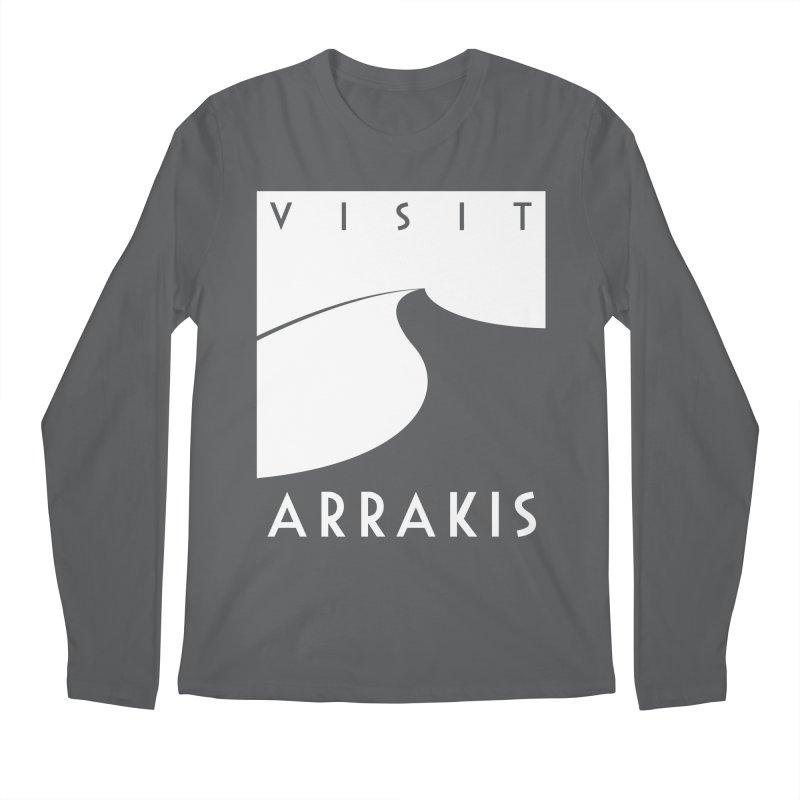 Visit Arrakis Men's Longsleeve T-Shirt by The Modern Goldfish Shop