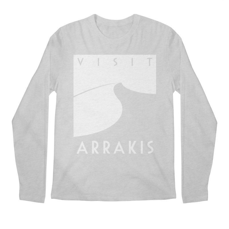 Visit Arrakis Men's Regular Longsleeve T-Shirt by The Modern Goldfish Shop