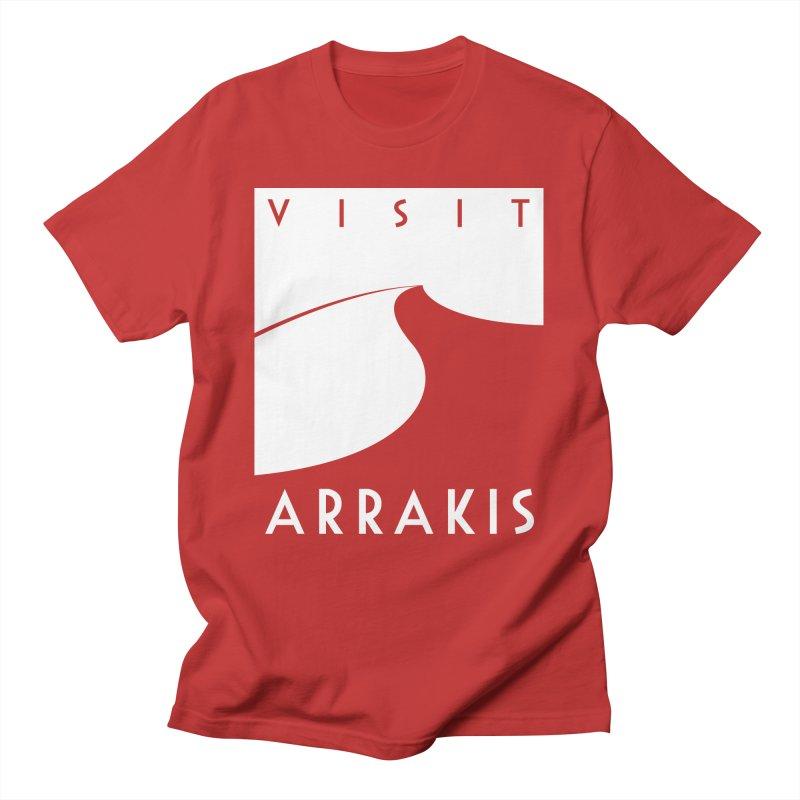 Visit Arrakis Men's T-Shirt by The Modern Goldfish Shop