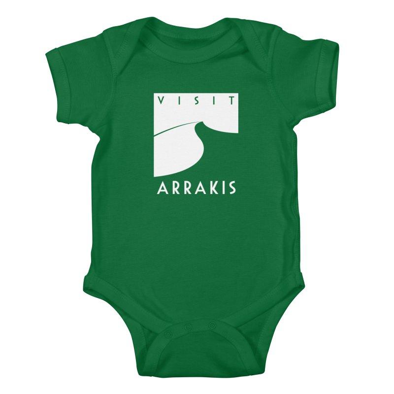 Visit Arrakis Kids Baby Bodysuit by The Modern Goldfish Shop