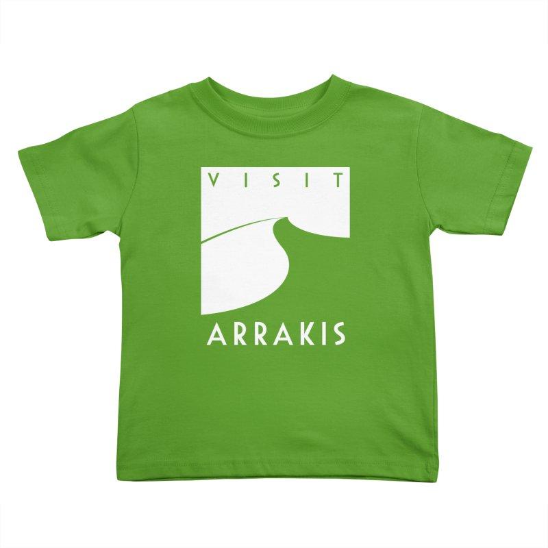Visit Arrakis Kids Toddler T-Shirt by The Modern Goldfish Shop