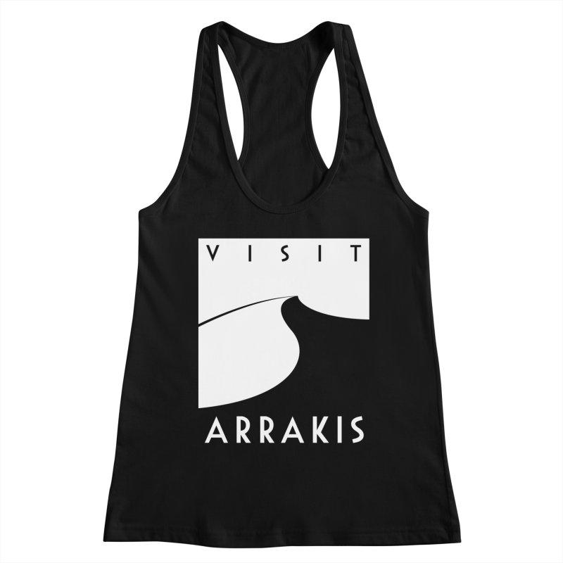 Visit Arrakis Women's Tank by The Modern Goldfish Shop