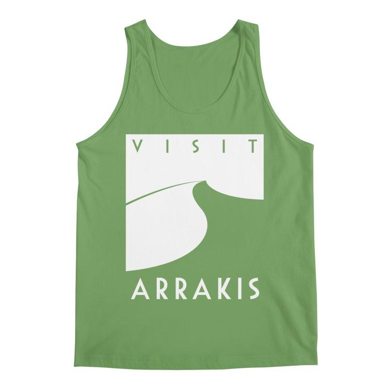 Visit Arrakis Men's Tank by The Modern Goldfish Shop