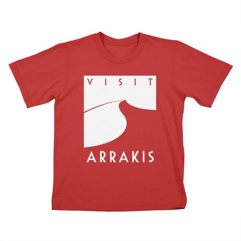 Visit Arrakis Kids T-Shirt by The Modern Goldfish Shop