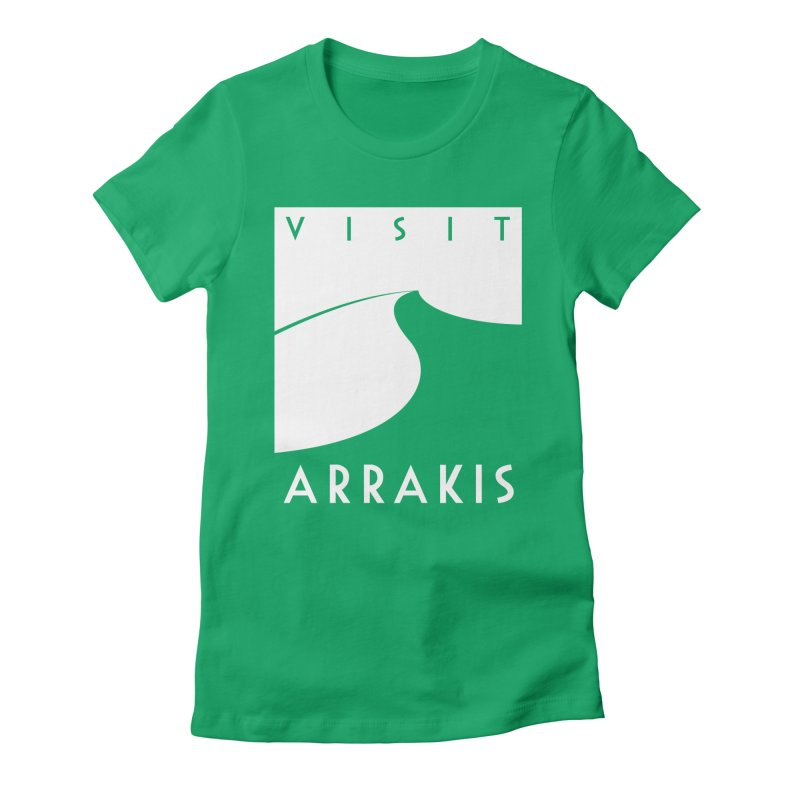 Visit Arrakis Women's T-Shirt by The Modern Goldfish Shop