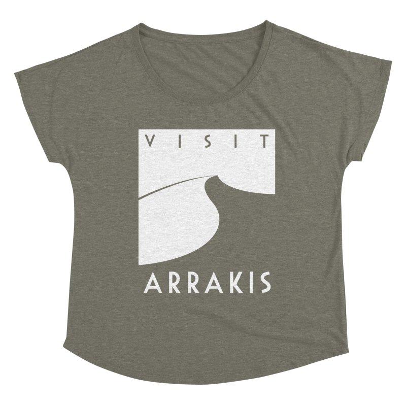 Visit Arrakis Women's Scoop Neck by The Modern Goldfish Shop