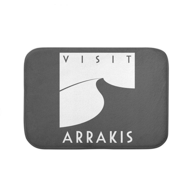 Visit Arrakis Home Bath Mat by The Modern Goldfish Shop
