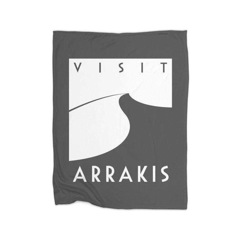 Visit Arrakis Home Blanket by The Modern Goldfish Shop