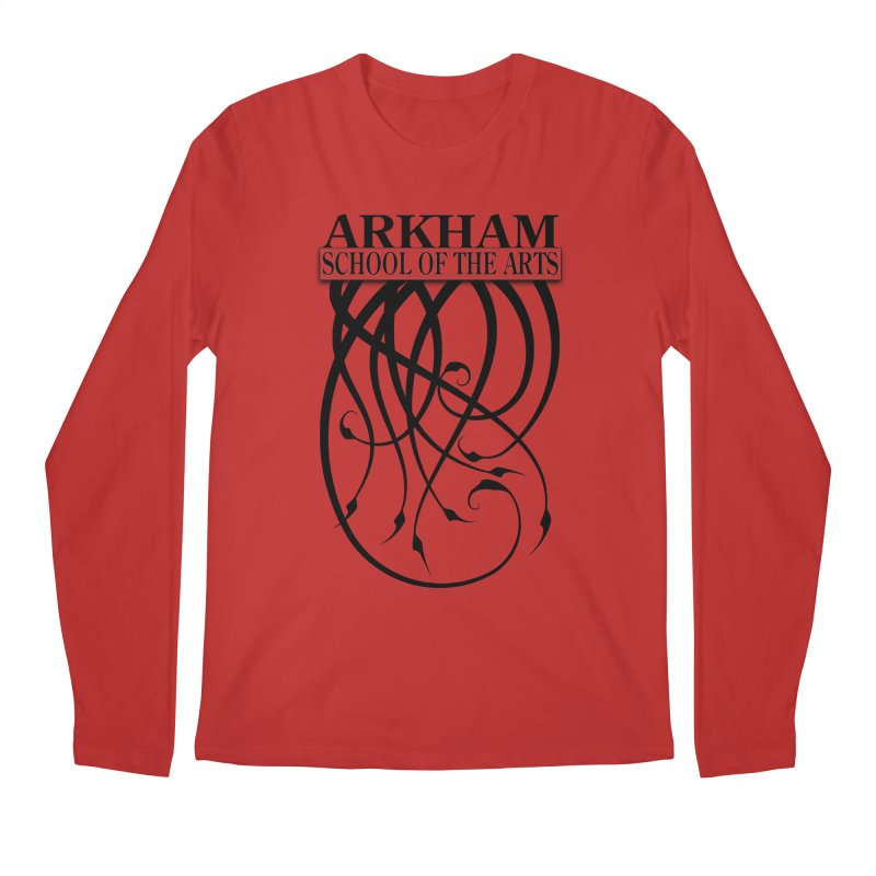 Arkham School of the Arts Men's Regular Longsleeve T-Shirt by The Modern Goldfish Shop