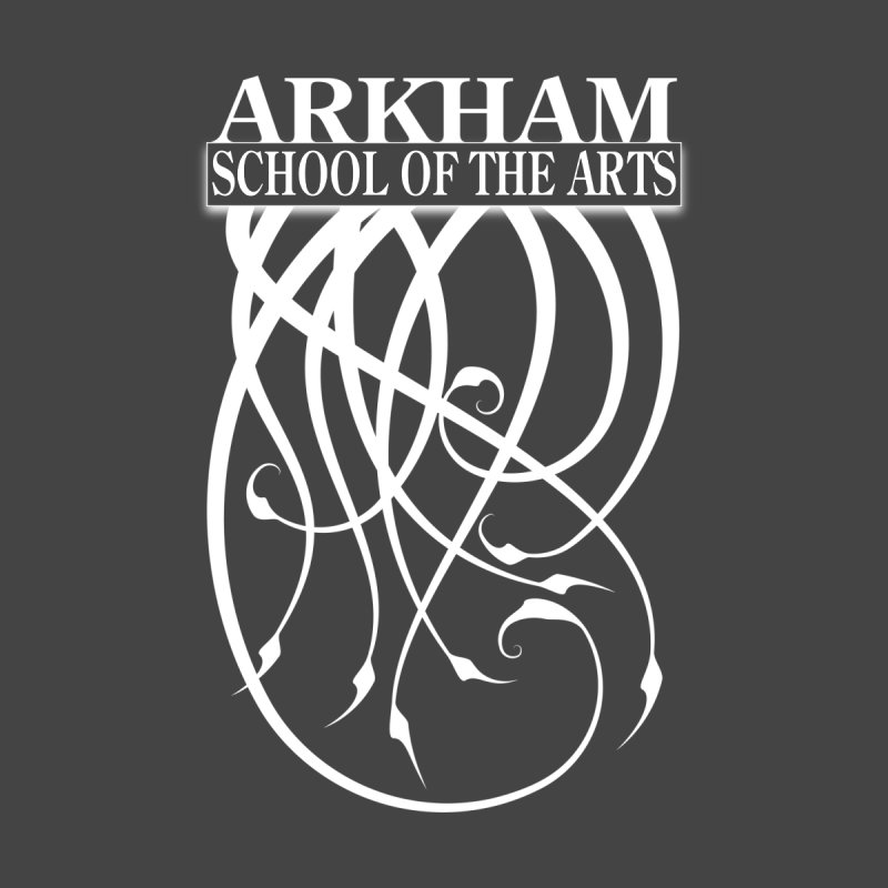 Arkham School of the Arts (white) by The Modern Goldfish Shop