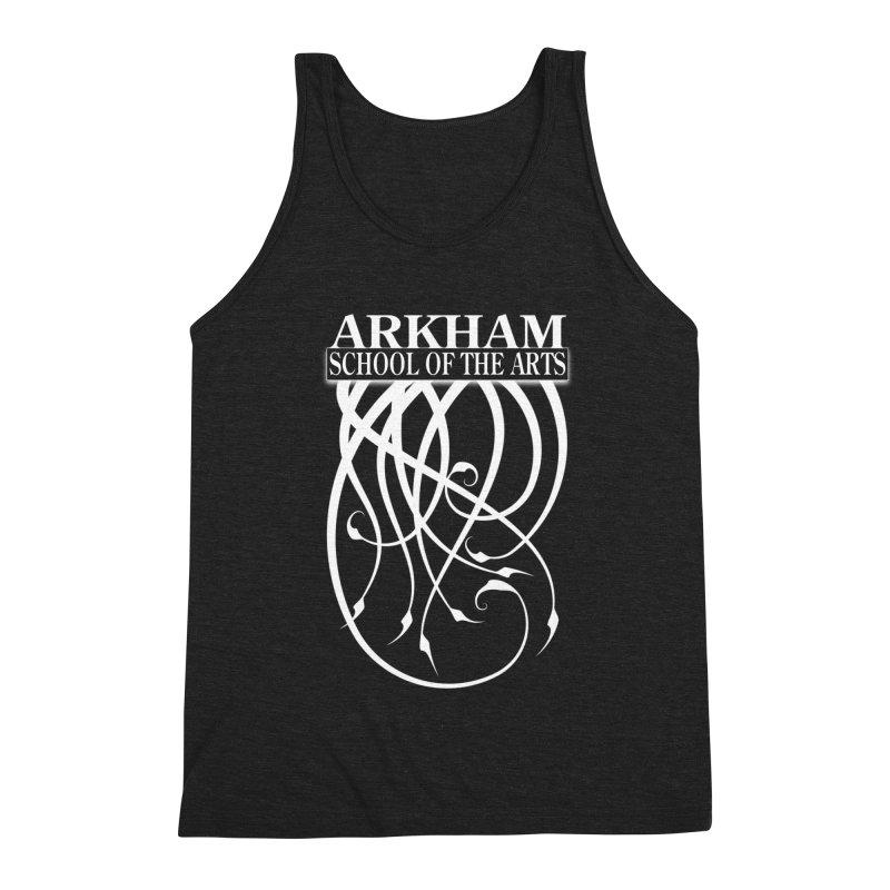 Arkham School of the Arts (white) Men's Tank by The Modern Goldfish Shop